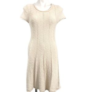 Hem & Thread Short Sleeve Sweater Dress